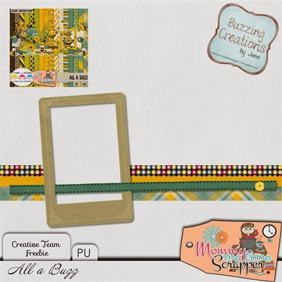MMTS & TJD - All a Buzz - Frame Freebie Preview