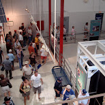 many tourists in Cape Canaveral, Florida, United States