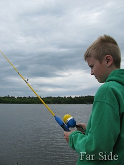 Adam Fishing June 12 2011