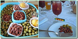 olives and sangria