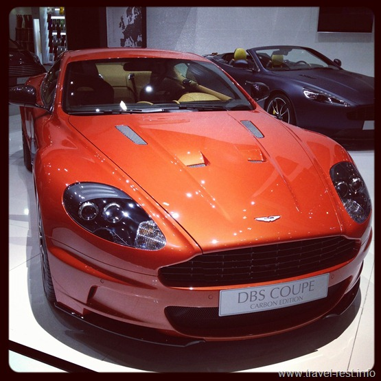 Aston Martin DBS Coupe