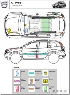 reddingskaart Dacia 03