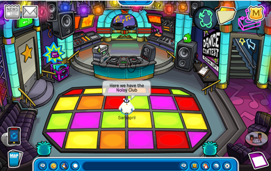 how to give a tour on club penguin