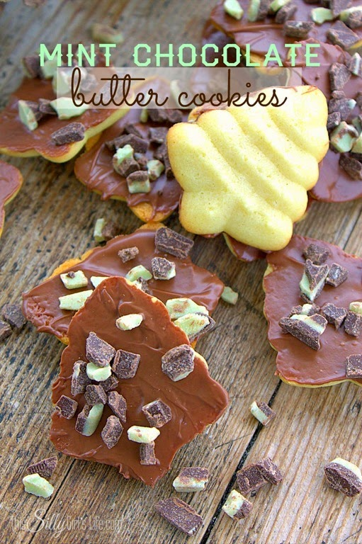 mint_chocolate_butter_cookies
