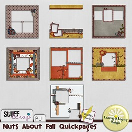 Nuts about Fall Quickpages
