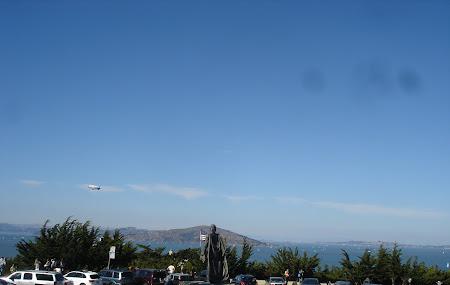 Vacanta San Francisco: De la Coit Tower