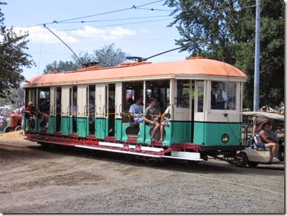 IMG_7937 New South Wales Government Tramways O-Class Tram #1187 at Antique Powerland in Brooks, Oregon on August 4, 2007