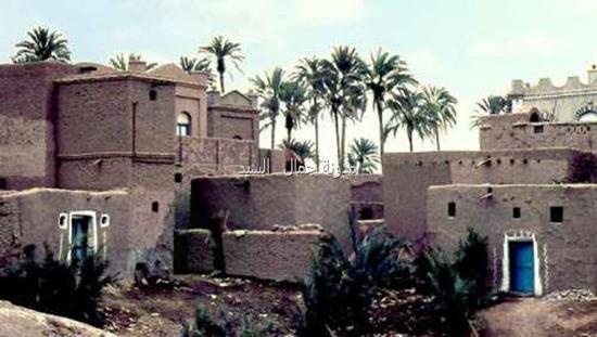 بيوت في الحوطة ـ لحج في الخمسينات