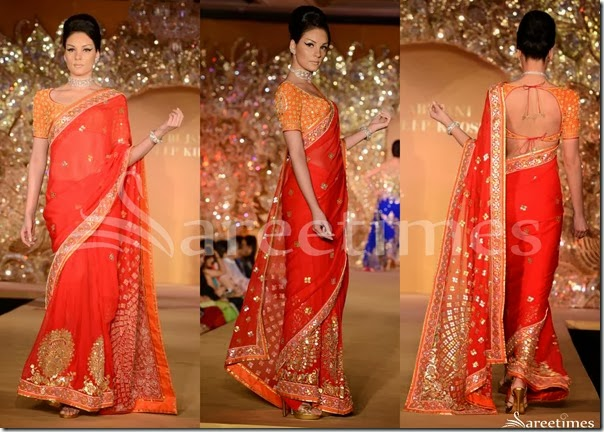 Abu_Jane_Sandeep_Red_Saree