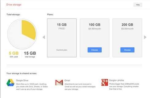 spazio-archiviazione-google