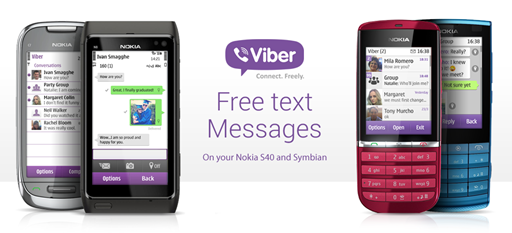 Viber for Nokia S40 and Symbian