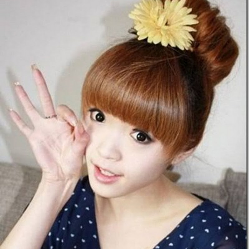 gaya model rambut wanita terbaru korea 2013 dan cara pembuatannya