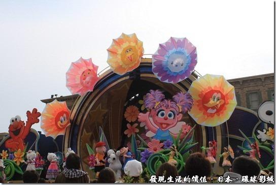 日本環球影城十週年戶外大型表演-美夢成真
