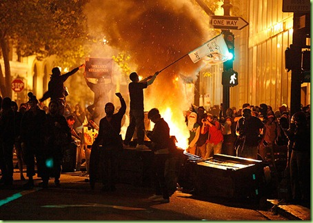 USA-PROTESTS/OAKLAND