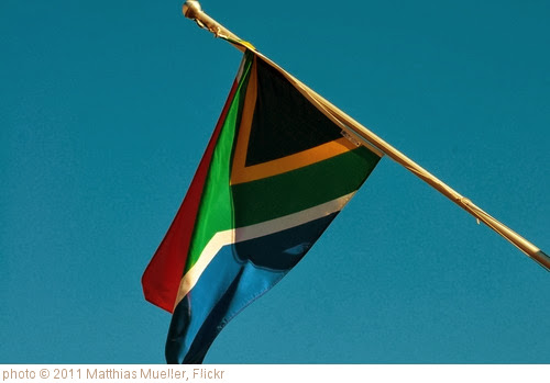 'south africa flag' photo (c) 2011, Matthias Mueller - license: http://creativecommons.org/licenses/by/2.0/