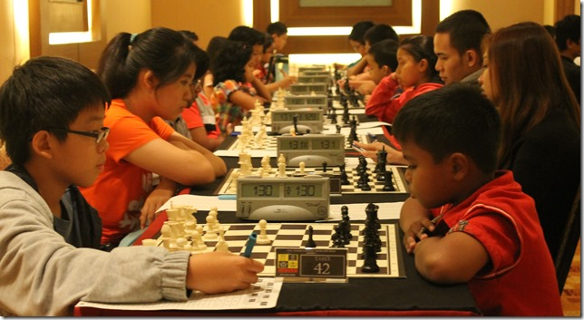Pictures of players in AmBank Chess Challenge 2013