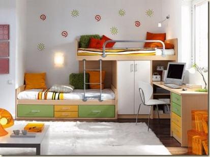 muebles para dormitorios de niños-