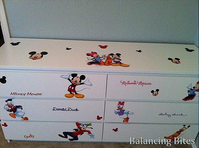 Mickey Mouse Ikea Dresser
