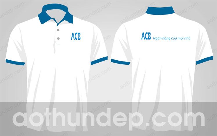 Áo thun lacoste cao cấp - đồng phục ngân hàng ACB