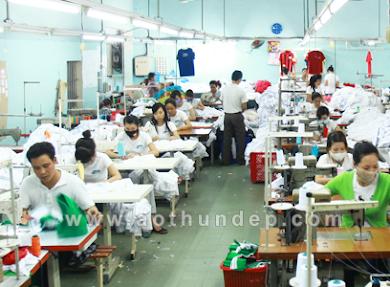Xưởng may áo thun, cơ sở may áo thun