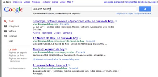 Asi sera la nueva version de Google