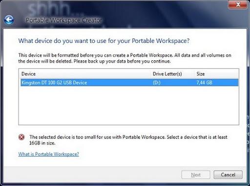 Windows 8 portable