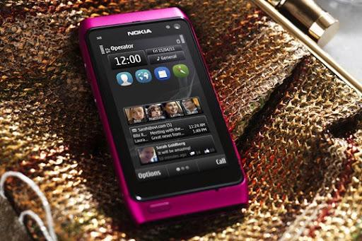 Nokia n8 rosado