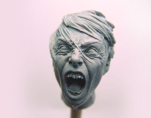 Zombie%20Teen%201 Sculptures by Adam Beane