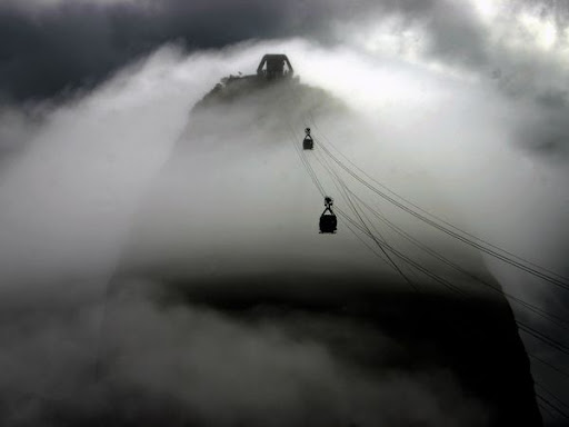 Cable Cars Brazil Beautiful Landscape Photos