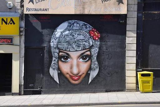 4risunki Bristol Graffiti Street Art