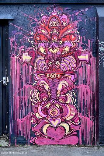 50risunki Bristol Graffiti Street Art