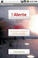 Screenshot of Alert SMS Email Sender