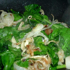 Spinach and Onion Stir Fry