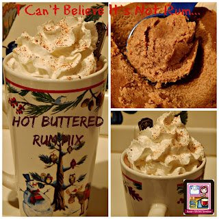 I Can't Believe It's Not Rum...Hot Buttered Rum Mix