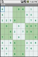 Screenshot of Standard sudoku