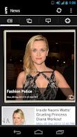 Screenshot of E! Online