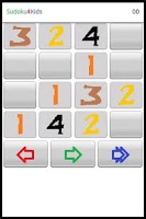 Screenshot of Sudoku4Kids