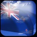 3D New Zealand Flag +