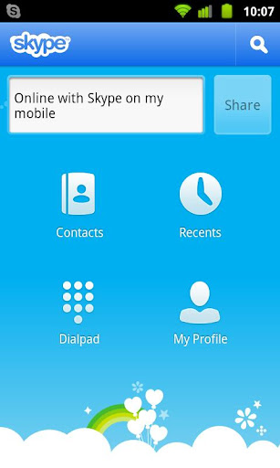 skype-on-telkomsel for android screenshot