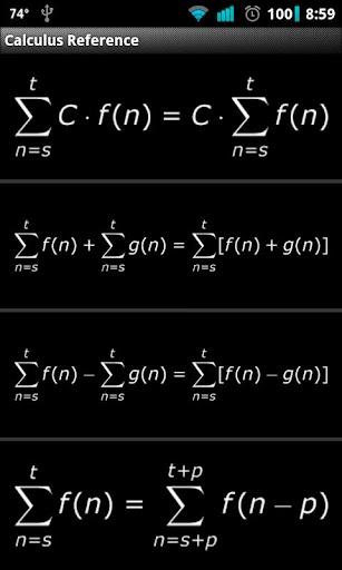 【免費書籍App】Calculus Reference-APP點子