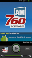 Screenshot of 760 KFMB AM