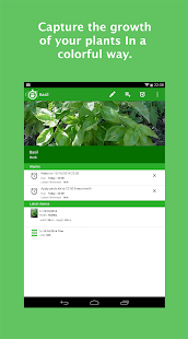 Plant Diary Screenshot