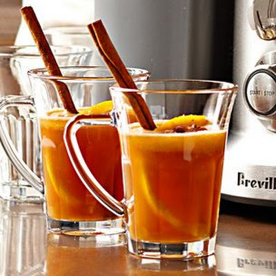Freshly Pressed Mulled Apple Cider
