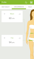 Screenshot of Happie Diet