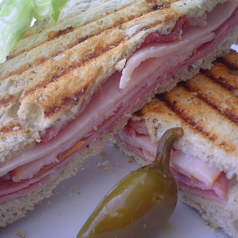 Turkey and Blue Cheese Grilled Sandwich