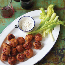 Mini Buffalo Chicken Balls