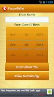 Screenshot of Future teller
