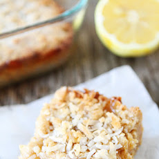 Lemon Coconut Crumb Bars