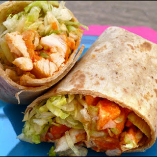 Buffalo Chicken Salad Wrap