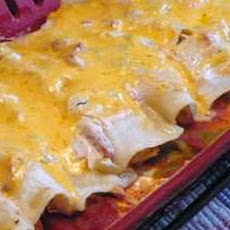 Awesome Easy Cheese and Chicken Enchiladas